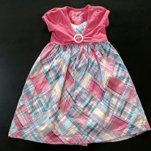 Beautiful Plaid Janie & Jack Sun Dress & Shrug